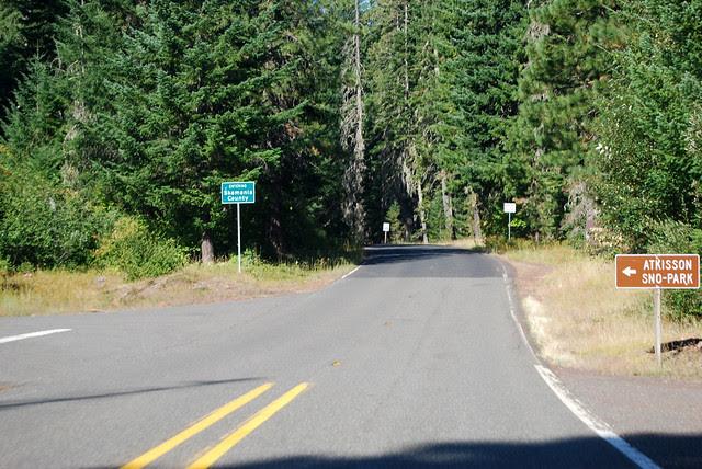SR 141 @ Pinchot National Forest