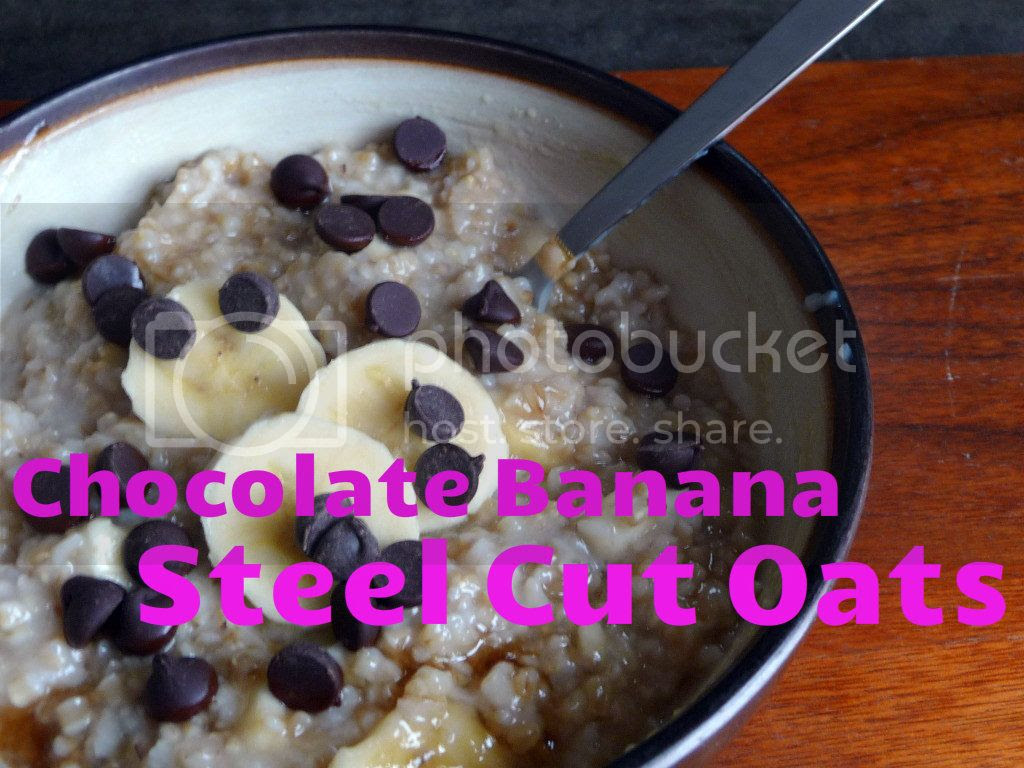 chocolate banana steel cut oats