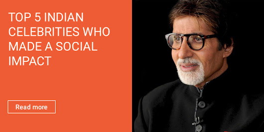 Top 5 Indian Celebrities who made a social impact