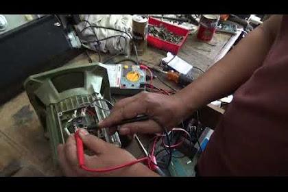 Menentukan Belitan Inti dan Belitan Bantu Motor Induksi Satu Fasa dengan Menggunakan Avometer