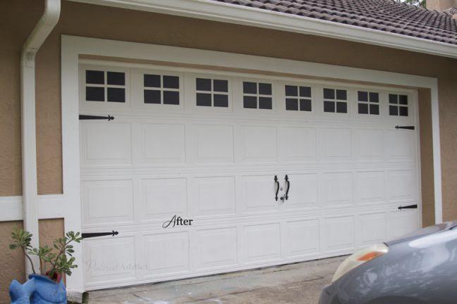 Carriage Garage Door - After