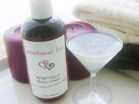 Holiday BOGO Sale - le'amour body wash - 8 ozs aloe rich sulfate free goodness