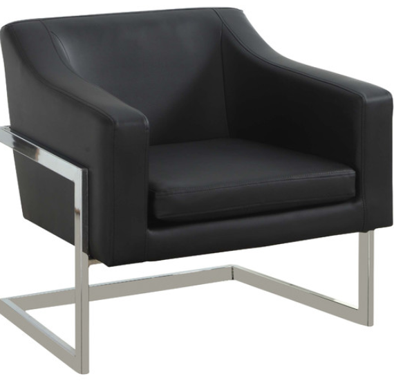 7 Black Accent Chairs for Your Modern Living Room  Cute