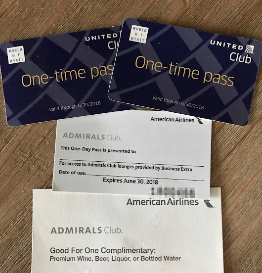 GIVEAWAY: 3 Lounges Passes (2x United 1x AA Admirals Club) - The Reward Boss