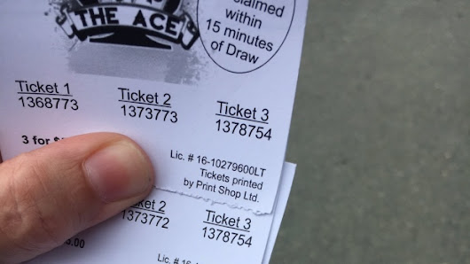 No ace to chase: N.L. lottery draw postponed over duplicate tickets