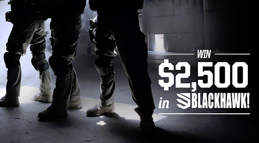 Win $5,000 in Blackhawk @TacticalGear.com