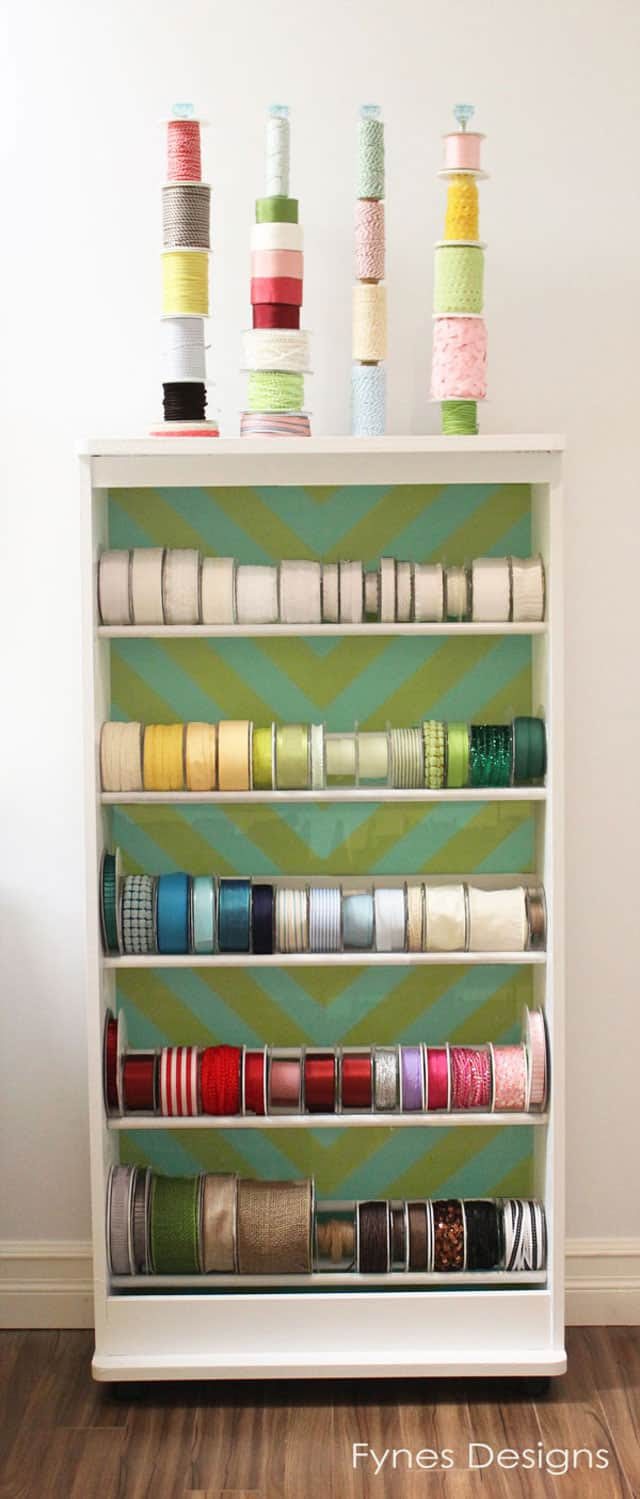 Craft Room Ribbon Storage Ideas Tecnoraccom