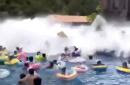 44 injured as freak wave pool accident causes 'tsunami' at Chinese water park