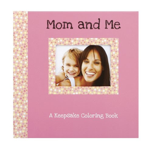Gibby & Libby Keepsake Coloring Book, Mom and Me by C.R. Gibson
