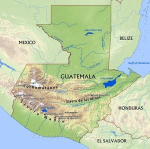 Guatemala Maps Freeworldmaps Net