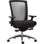 High-Back Multi-Functional Task Chair Black (BIFMA)