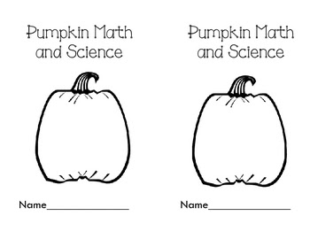 Pumpkin Science and Math