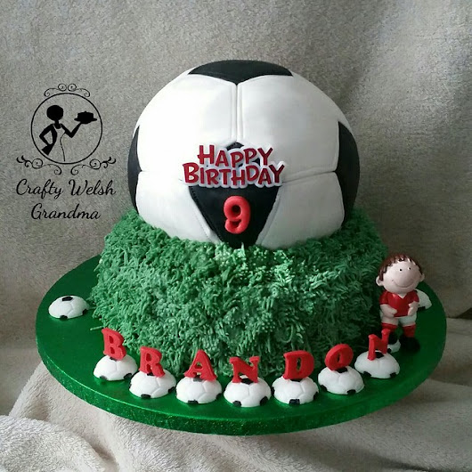 Football Cake - Red