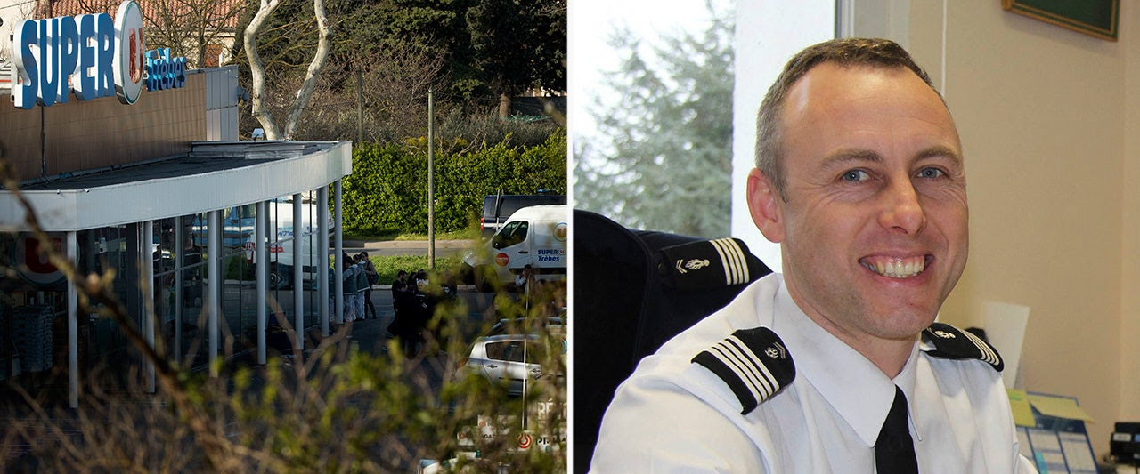 Hero French officer who sacrificed self to save hostages in terror attack dies of injuries