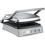 Cuisinart Griddler Deluxe GR-150 Grill - 1800W - Brushed Stainless Steel