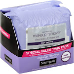 Neutrogena Towelettes, Cleansing, Makeup Remover, Special Value Twin Pack - 50 towelettes
