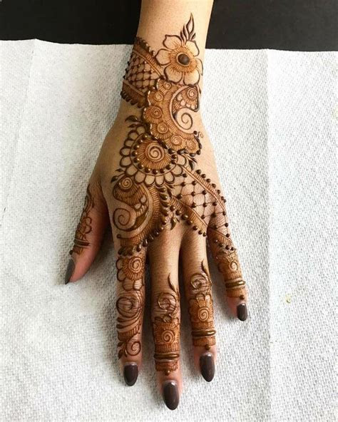 Best  27 Arabic Mehndi Design Ideas ~ iMehndi.com