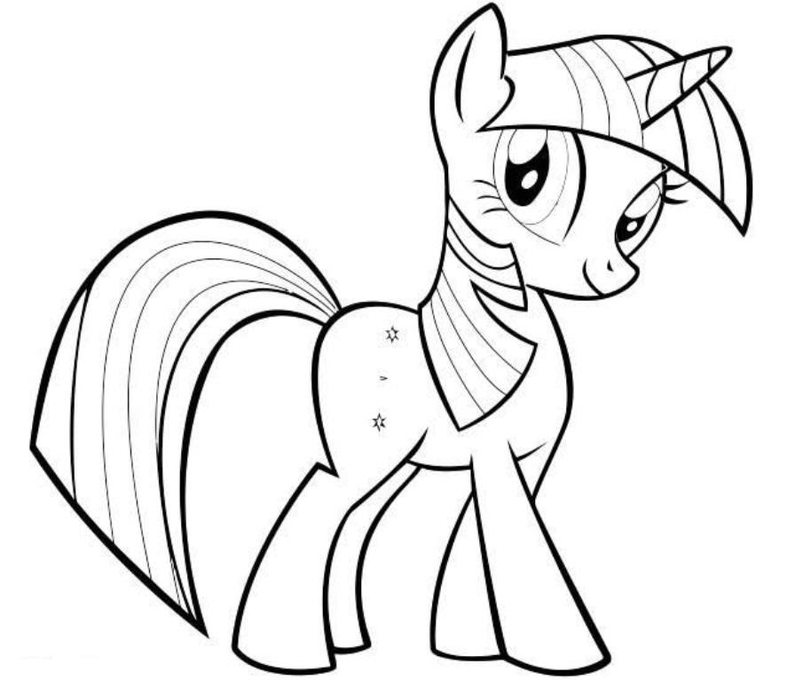 Coloring Pages My Little Pony Friendship Is Magic Coloring Home