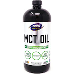 MCT Oil 100% Pure by Now Foods - 32 Ounces