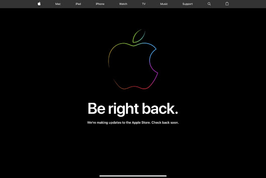 Apple Store goes offline: what's up? | Apple Must