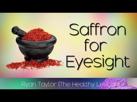 Saffron: for Eyesight