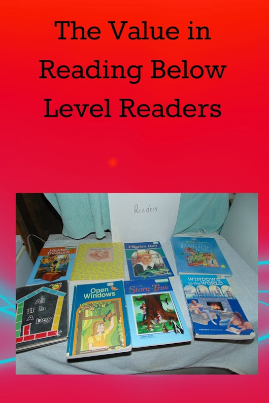 The Value in reading Lower level books