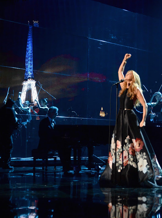 Celine Dion Performs Edith Piaf Classic in Tribute to Paris