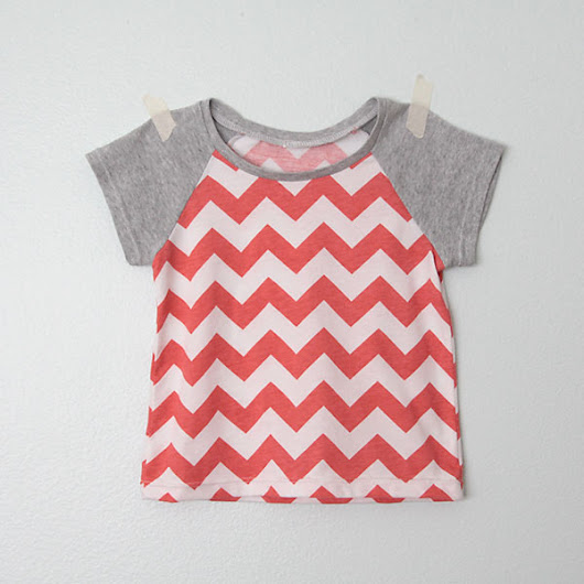 how to pattern draft and sew a raglan tee in any size - It's Always Autumn