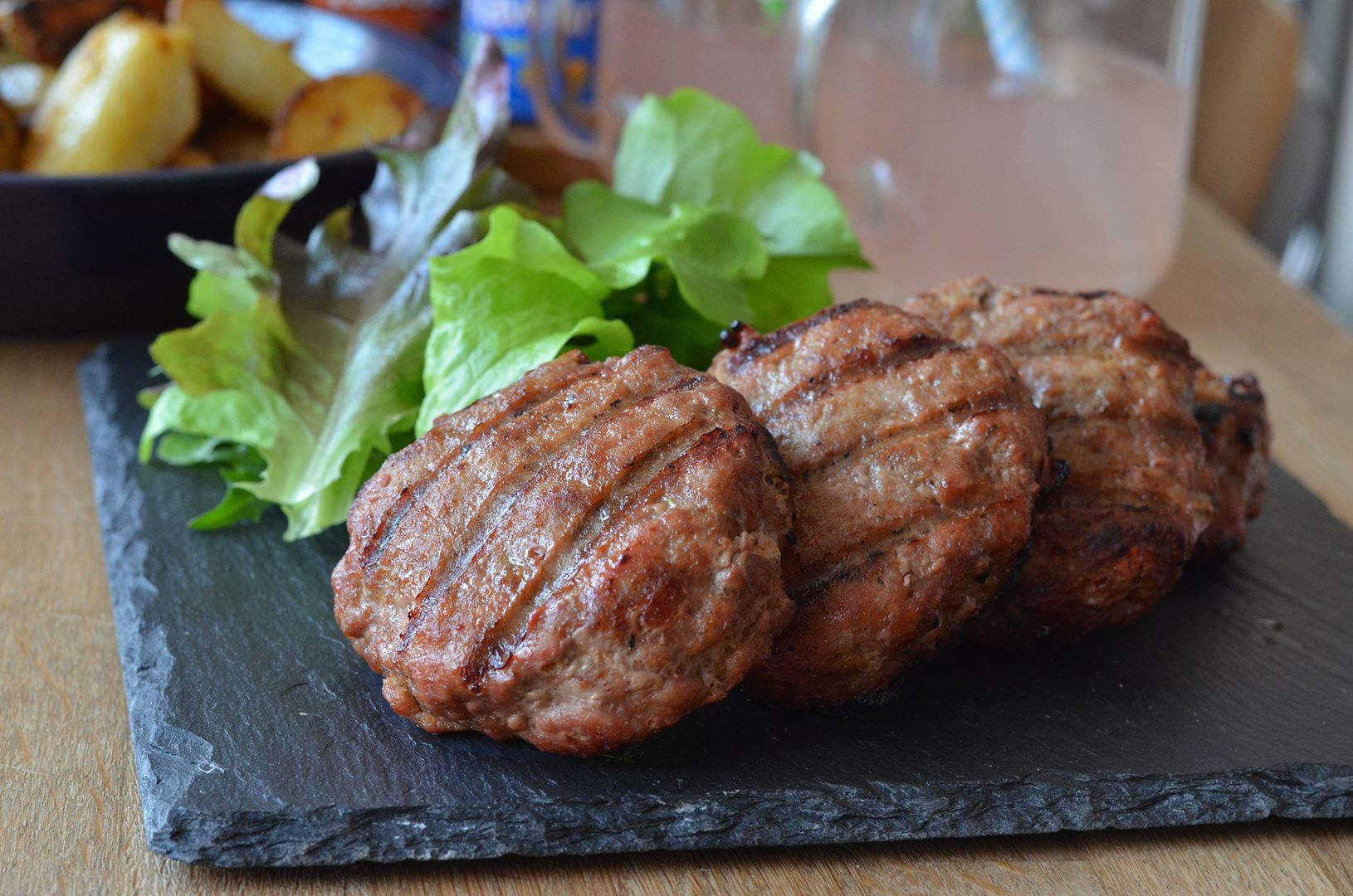 Home-made Tikka Burgers