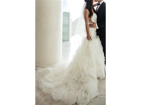 Kitty Chen Sterling, $800 Size: 4   Used Wedding Dresses