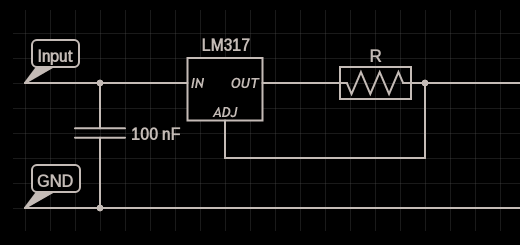 LM317 constant current source circuit design * Circuits DIY