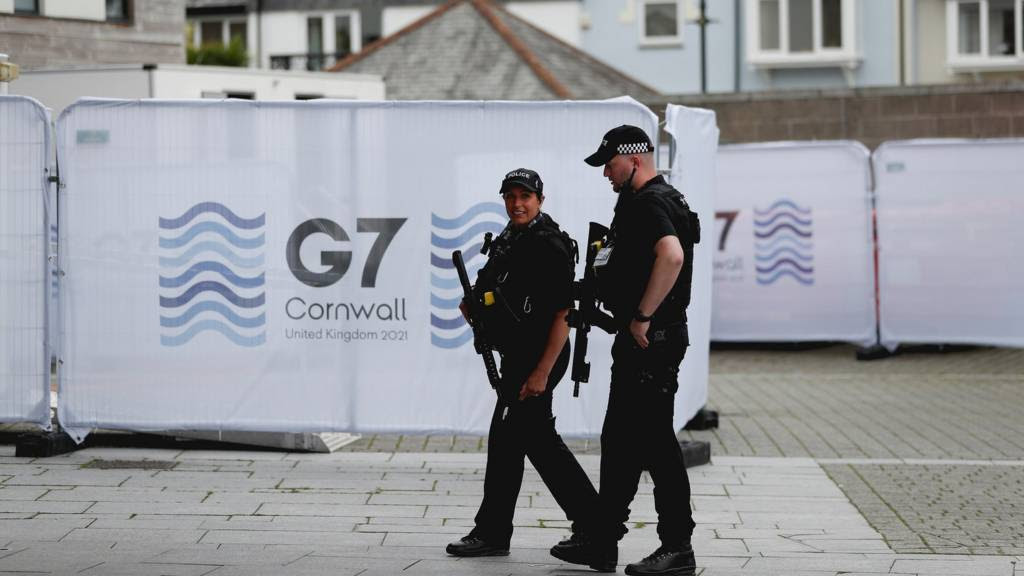 G7 summit: Leaders set to discuss climate and vaccines