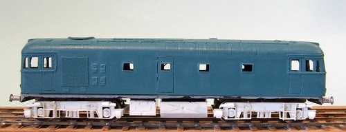 Class 26 with underframe