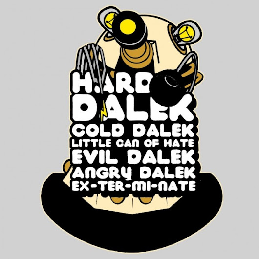 Hard Dalek Cold Dalek 2014 T-Shirt - The Shirt List