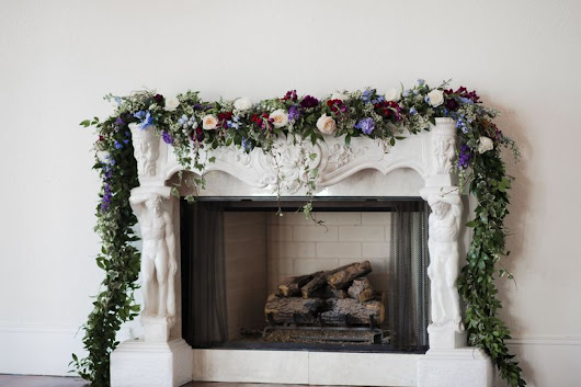 12 Ways to Decorate a Fireplace Mantel at Your Wedding