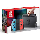 Nintendo Switch with Neon Blue and Neon Red Joy-Con - Black/neon Red/neon Blue