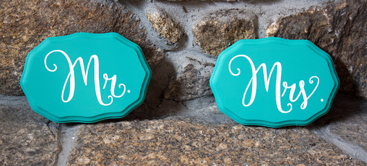 New Wedding Signs | Reception Decor | Just Married | Mr & Mrs