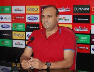William Simões, presidente do Campinense (Foto: João Brandão Neto / GloboEsporte.com)