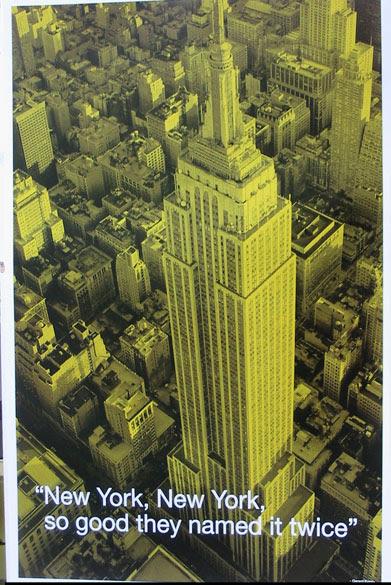 New York City Quotes Athena Posters