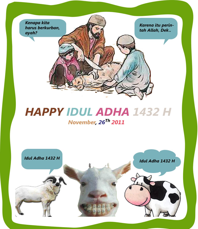 Gambar Lucu Gokil Idul Adha Update Status