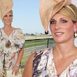 She's not exactly an expert: Zara Phillips underwhelms in striking dress as she judges fashion finalists at Magic Millions Raceday