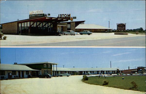 Bennettsville Motel/Brandin' Iron Restaurant South Carolina