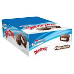 Hostess Chocolate Ding Dong 2.55oz 6count (PACK OF 6)