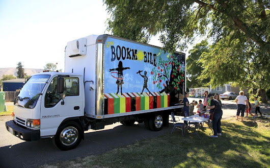 Ellensburg bookmobile in its sixth year
