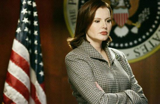 Geena Davis | Commander in Chief | Tacky Harper's Cryptic Clues