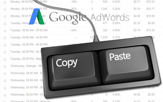 How To Copy & Paste Ad Scheduling (Dayparting) Settings To Your AdWords Campaigns - Cypress North