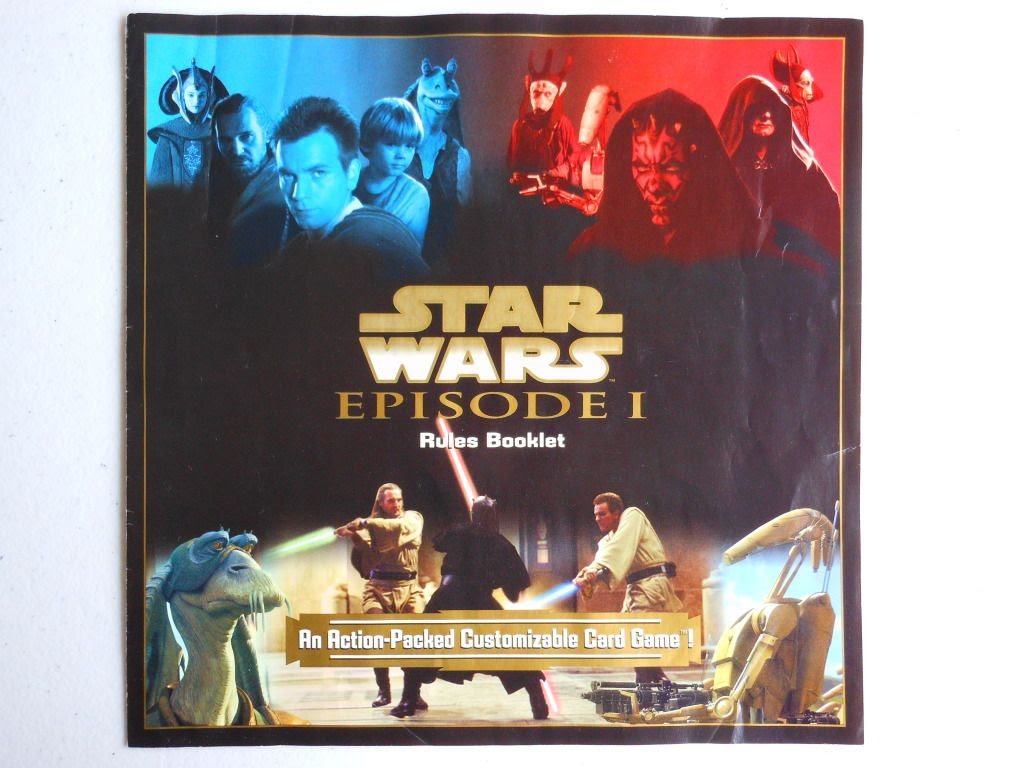 Star Wars Episode I Customizable Card Game rules
