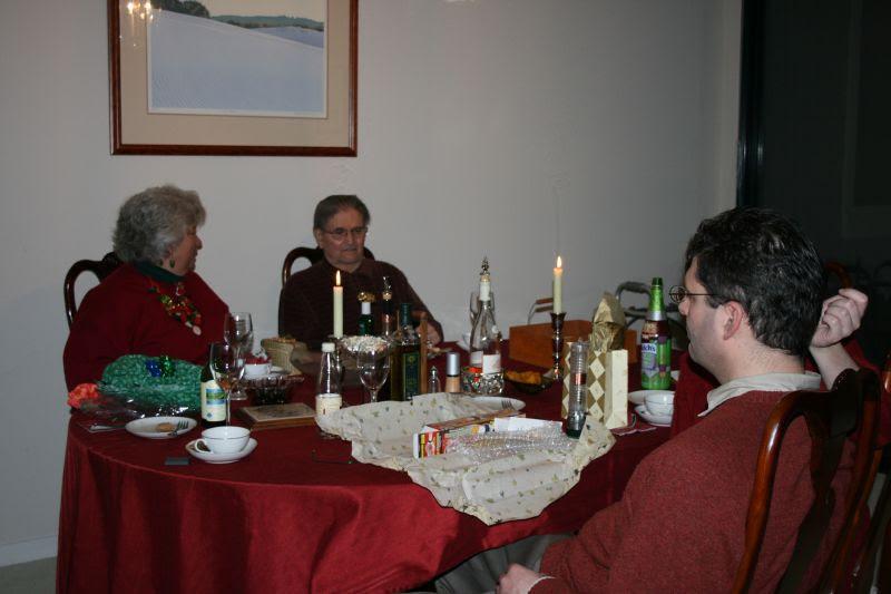 Lynn, Dad & Daniel in conversation