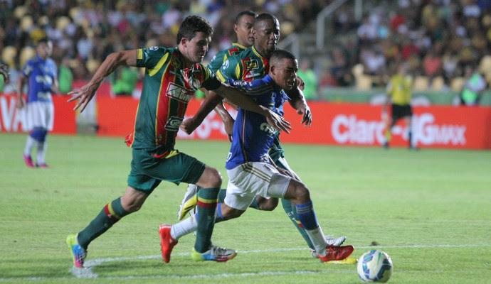 Sampaio Corrêa x Palmeiras (Foto: Honório Moreira/Futura Press)