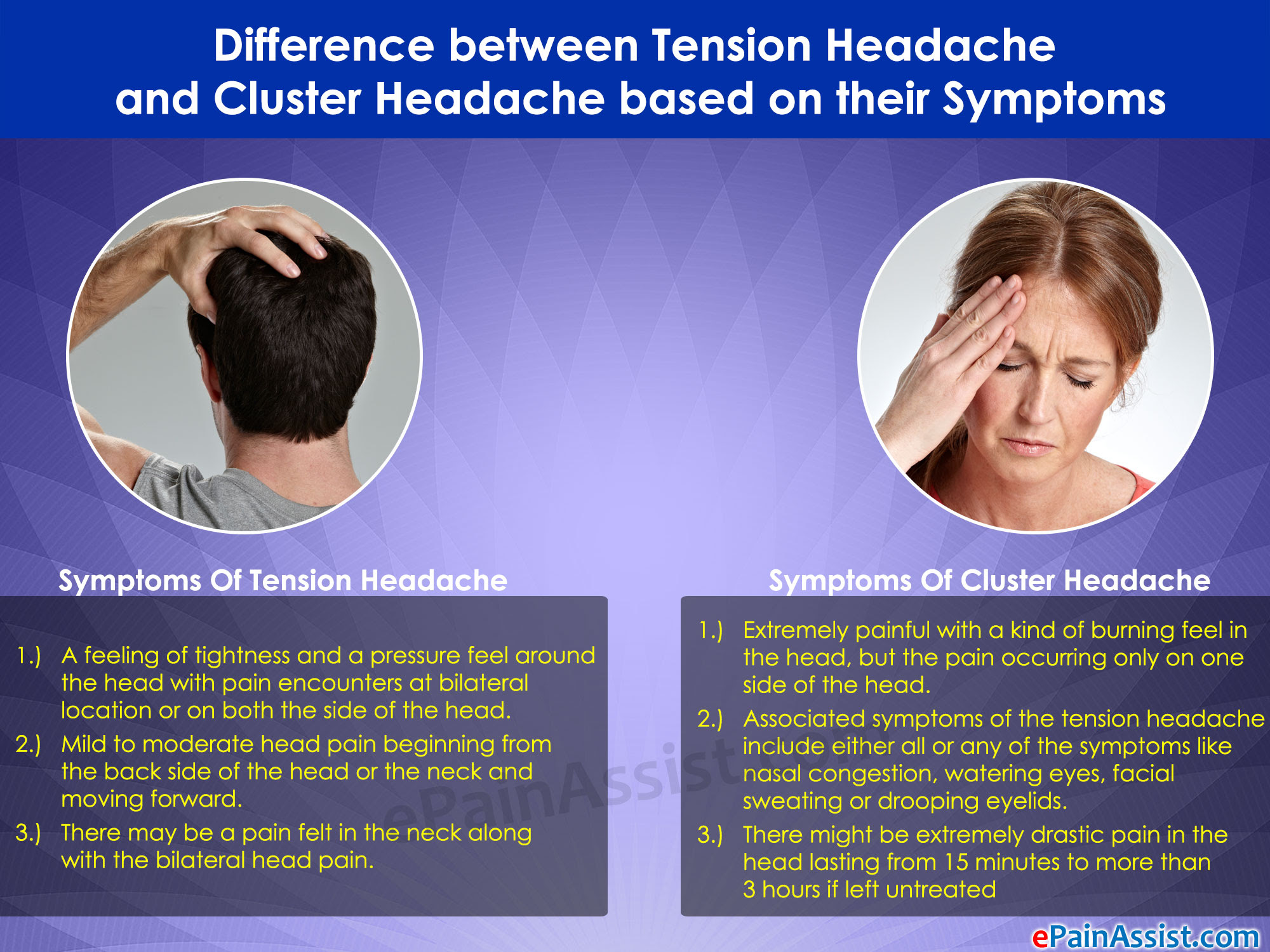 tension headache symptoms - pictures, photos